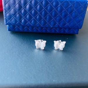 Brand new 925 Silver butterfly Studs